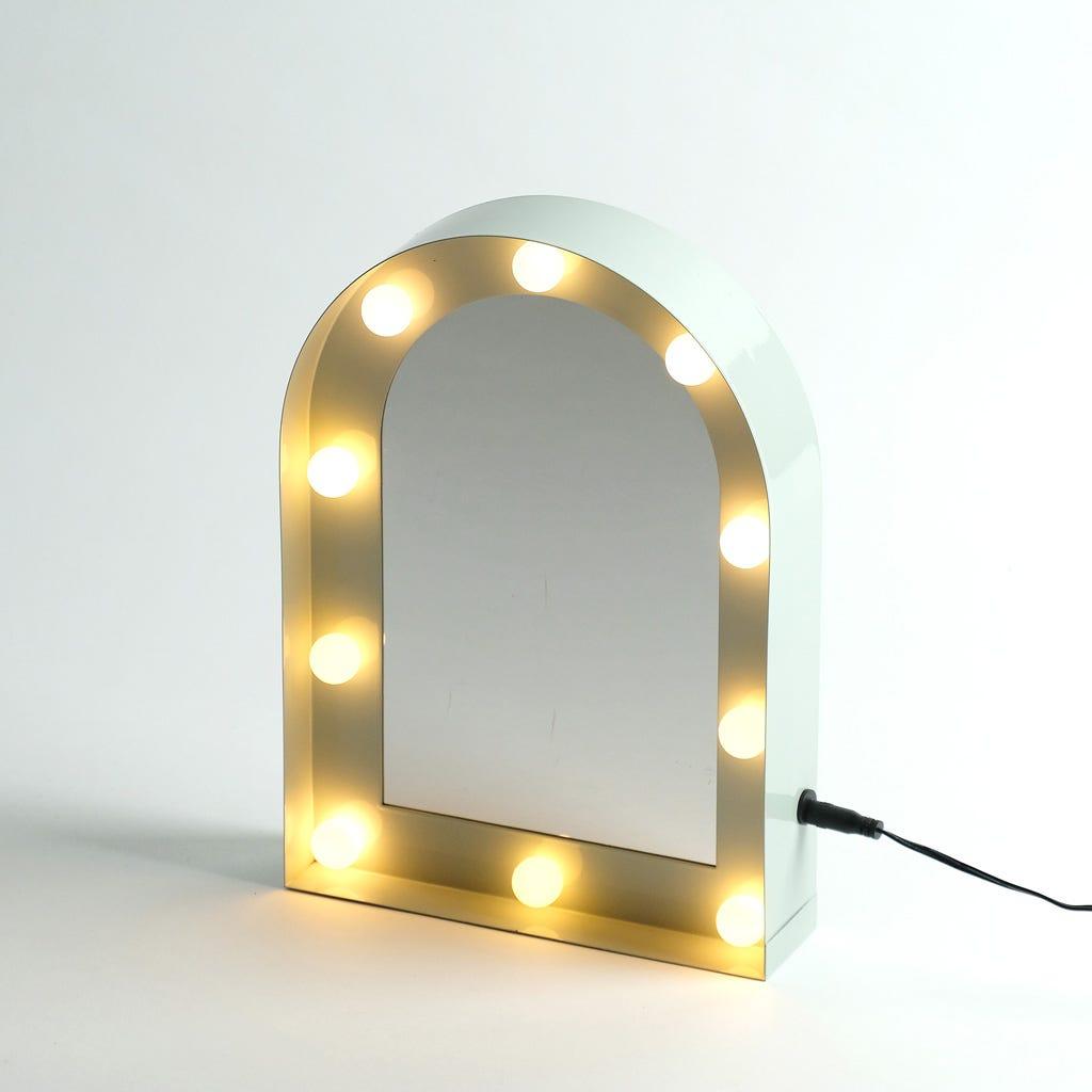 Miroir 10 LED 20X5X28 cm