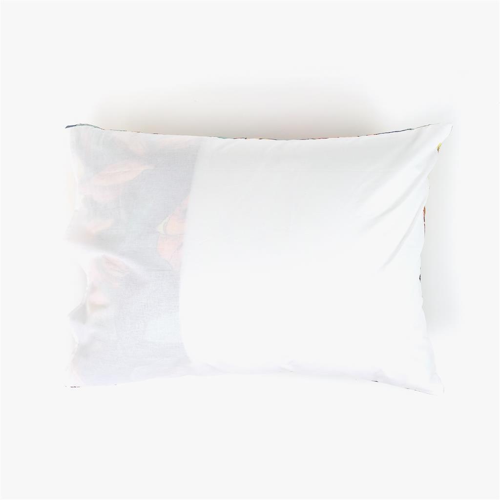 1 Saco de Edredão + 1 Fronha Flores 140x200 cm