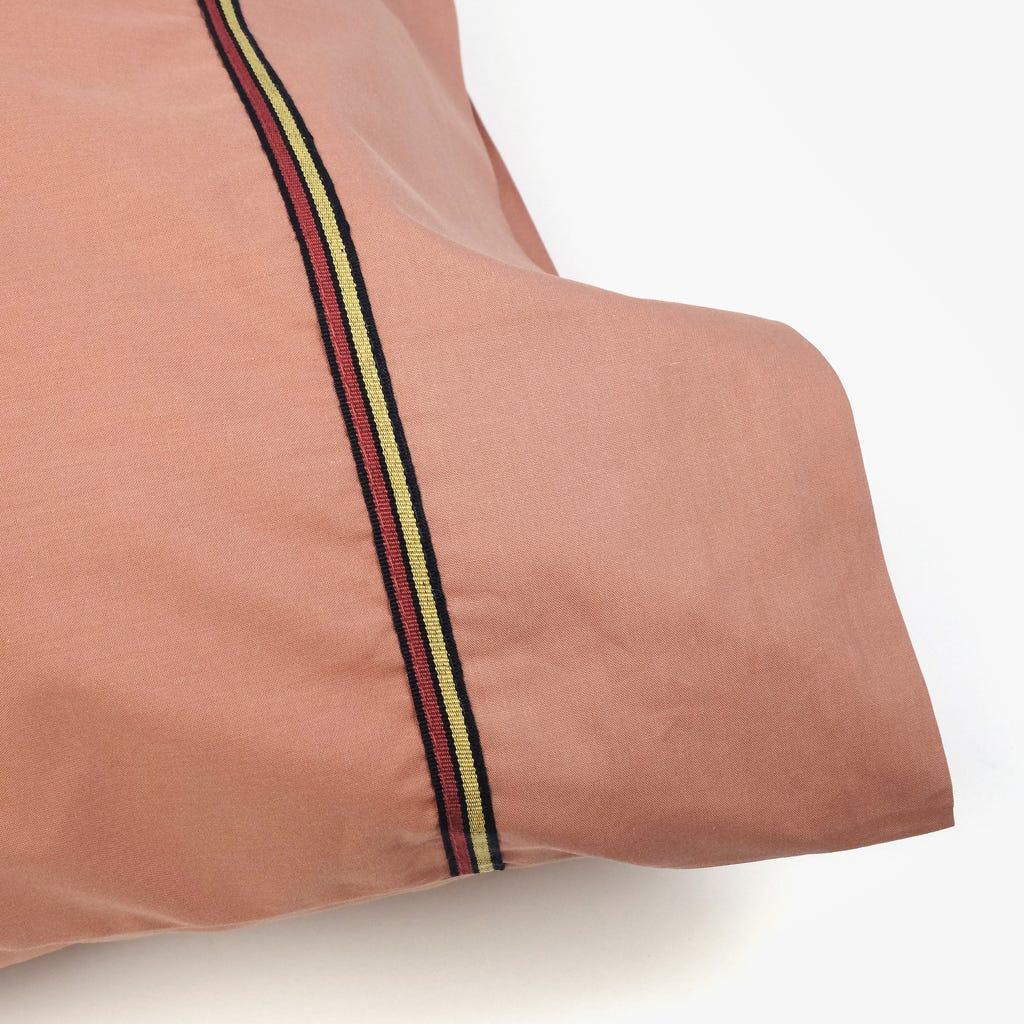 2 Lençois + 1 Fronha de Almofada Rosa 180x280 cm