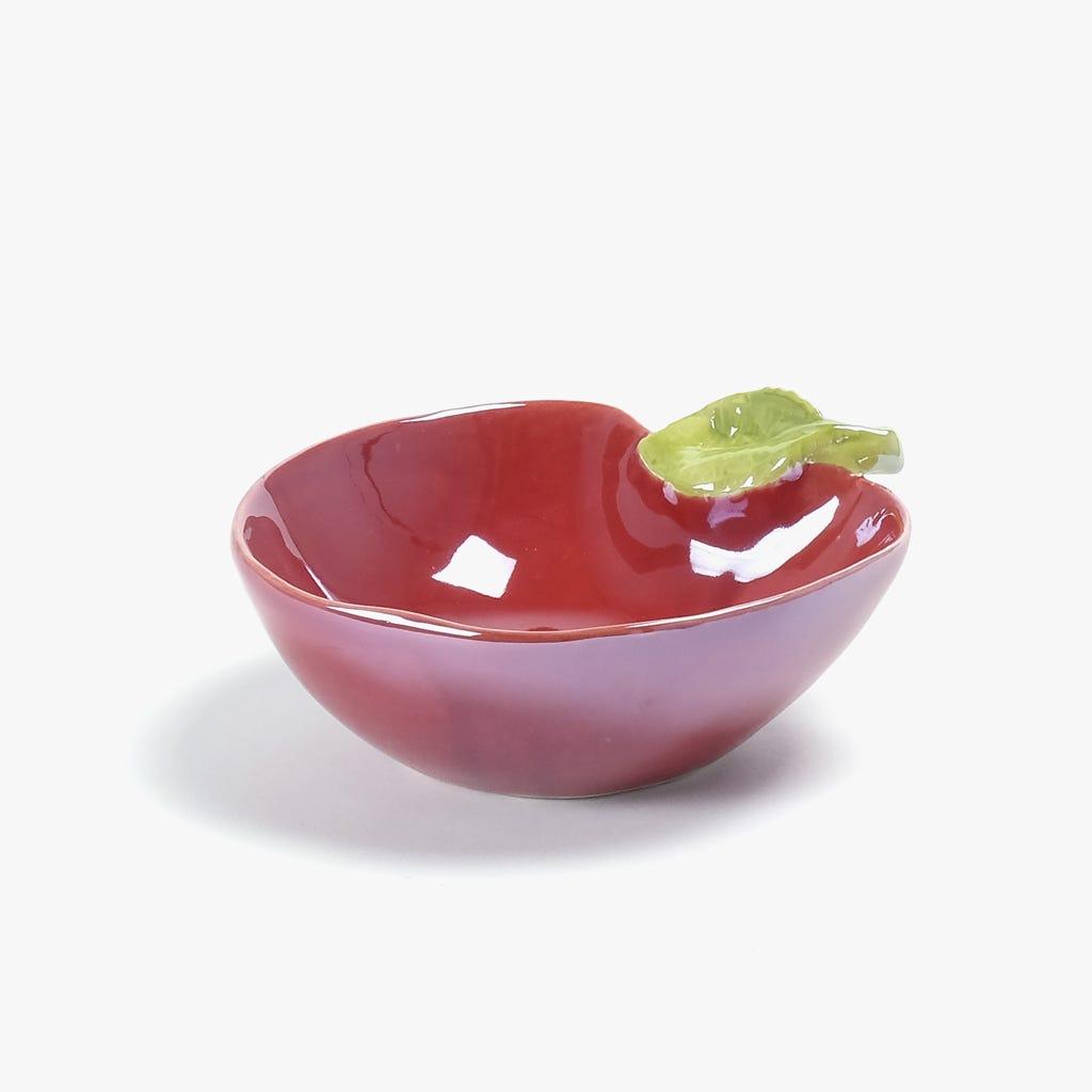 Taça Maçã Vermelha 12x15 cm