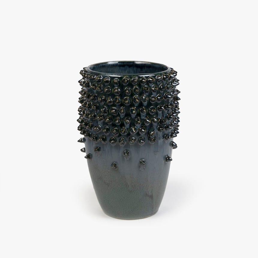 Vase Bleu 18x18x25 cm