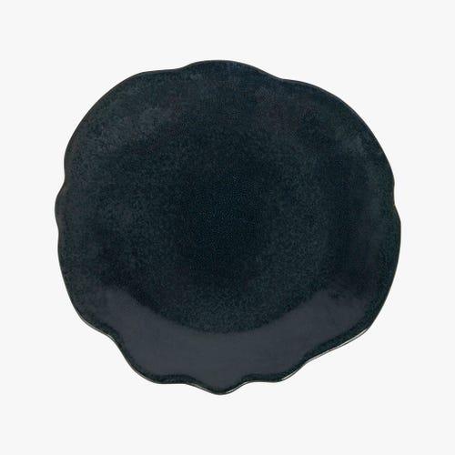 Prato decorativo Maré azul 29x27 cm