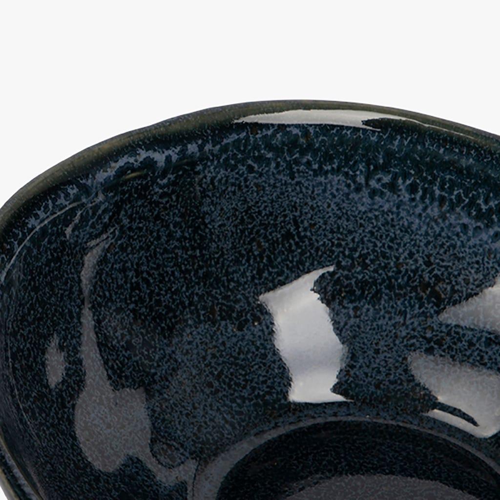 Bol décoratif Maré Bleu 11x9 cm