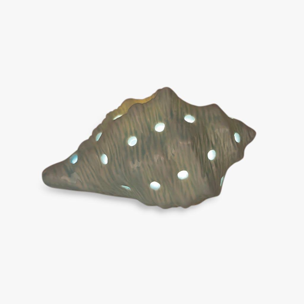 Conque Aquatic Bleu 13x9x7 cm
