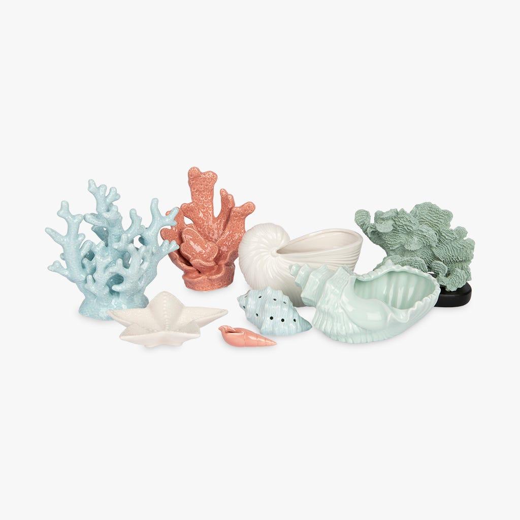 Coquille Aquatic Blanc 22x12x14 cm