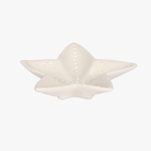 Bowl Aquatic Sea Star White 19x18 cm