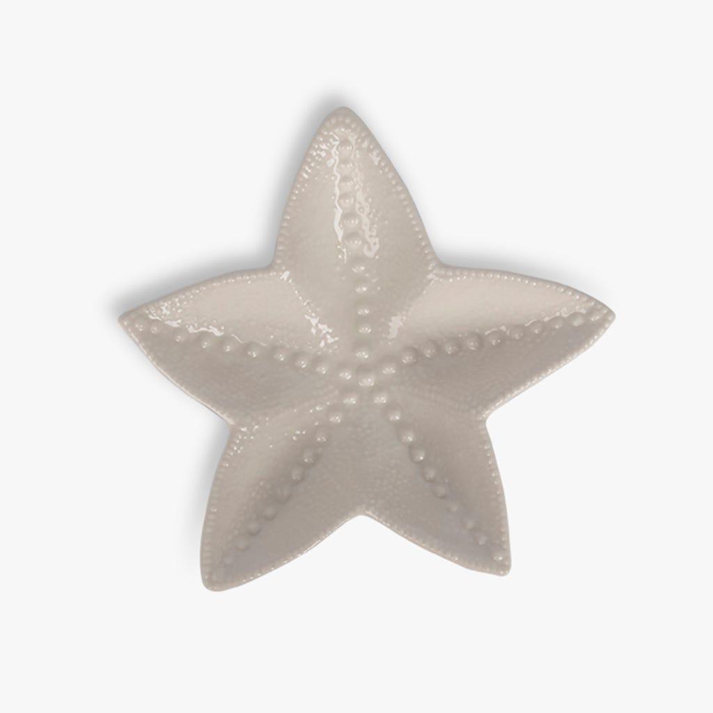 Tasse Aquatic Étoile de mer Blanc 19x18 cm