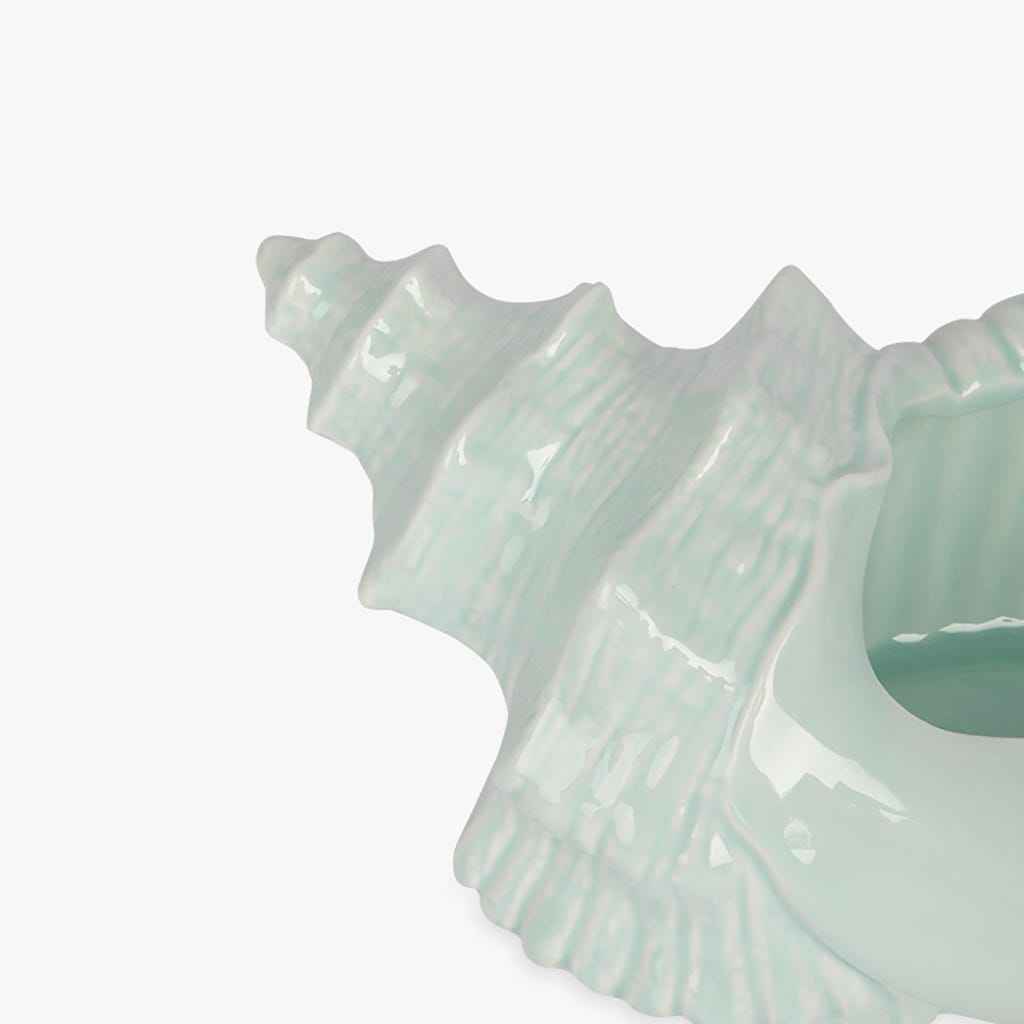 Conque Aquatic Bleu 25x16x11 cm