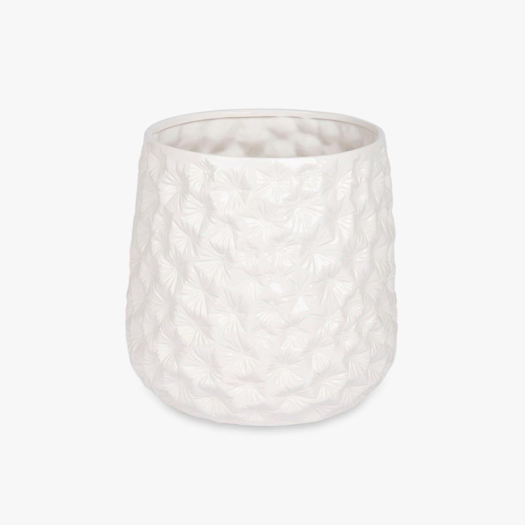 Maceta Aquatic Blanco 30x29 cm