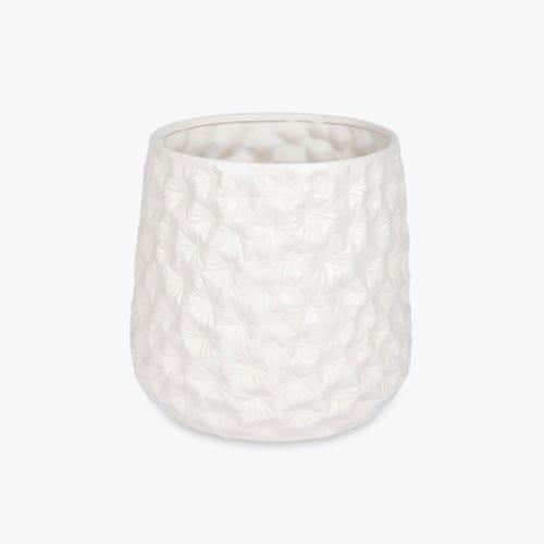 Vase Aquatic White 30x29 cm