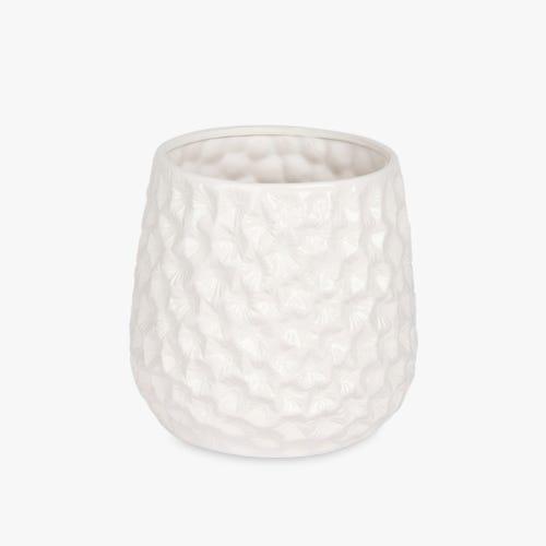 Vase Aquatic White 25x30 cm
