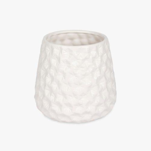 Vase Aquatic White 21x20 cm