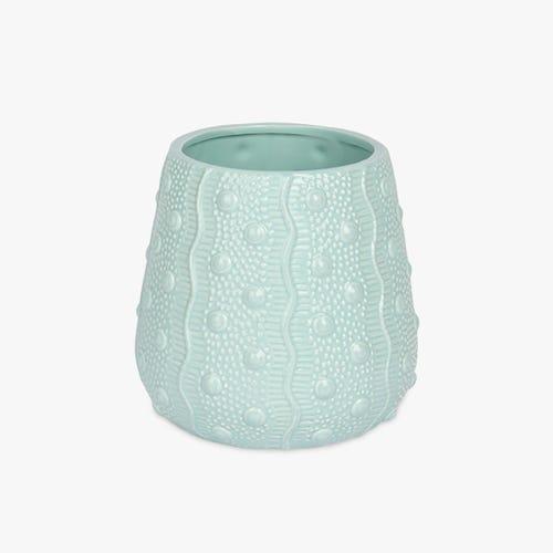 Vase Aquatic Blue 21x20 cm