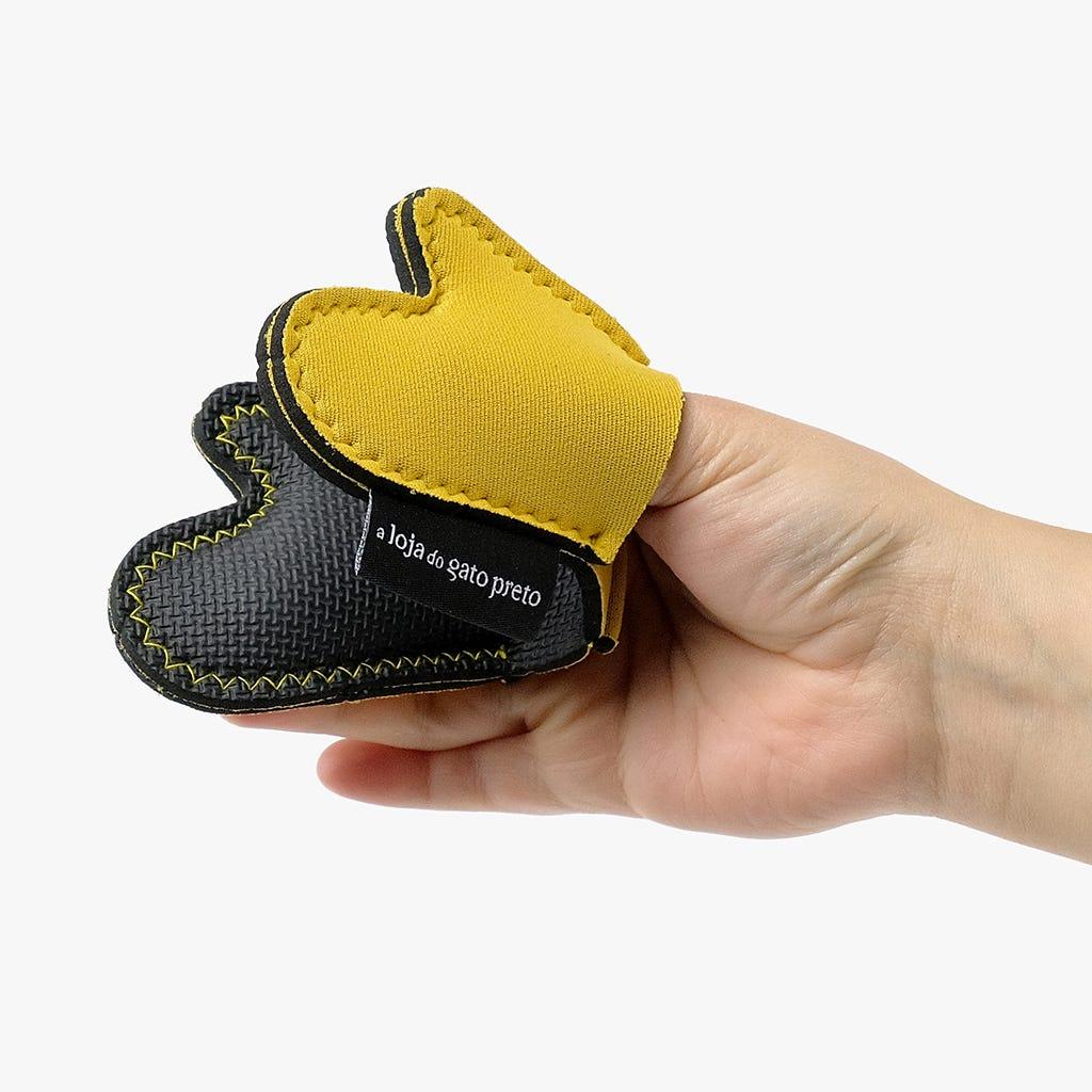 Pega Luva Amarela Mini