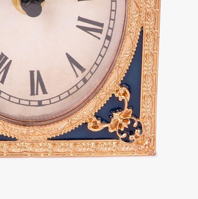 Horloge Table D'Or 11x5x16 cm