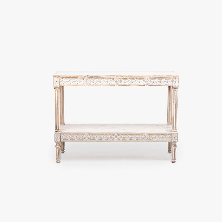 Consola madeira 105x35x76 cm