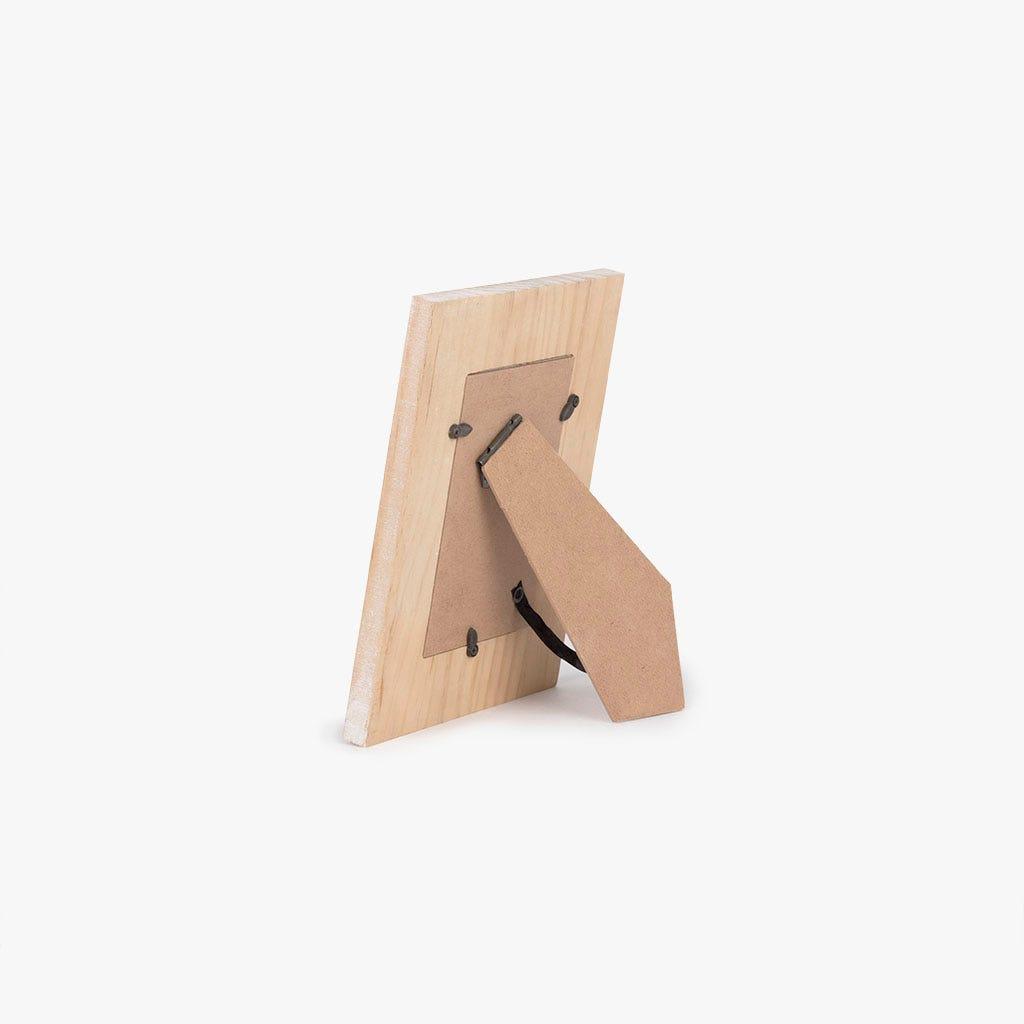 Moldura étnico madeira 18x23 cm