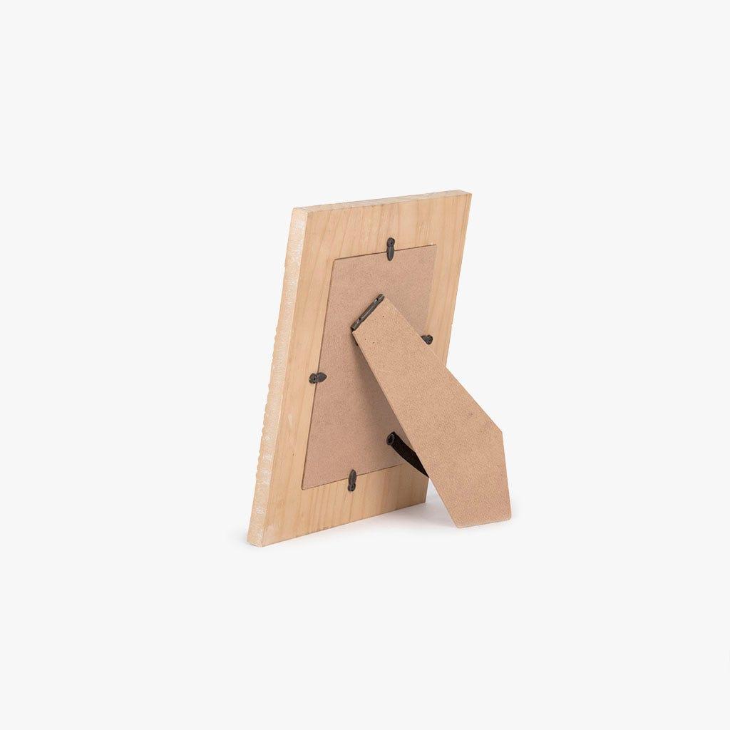 Moldura étnico madeira 20x25 cm