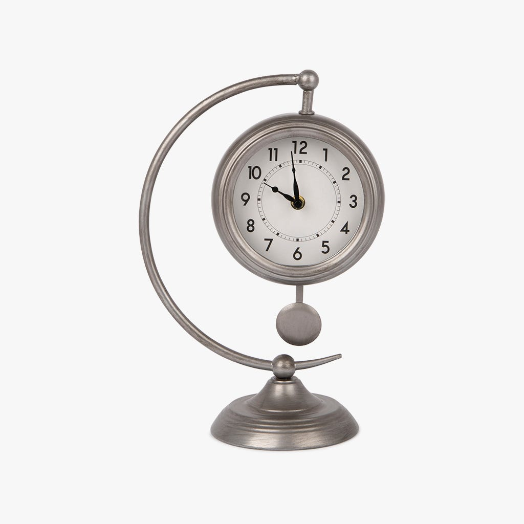 Horloge de Table Metal