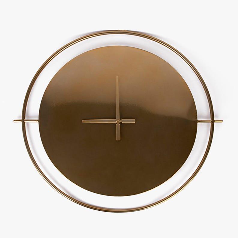 Horloge murale Metal D'Or 88 cm