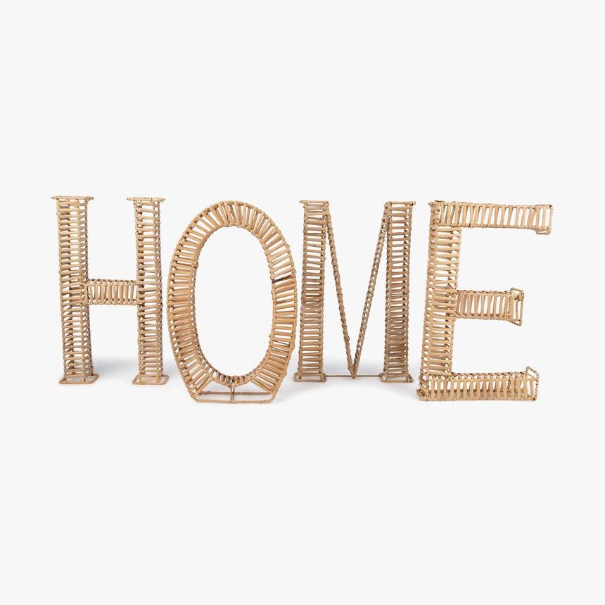 Pièce décorative Home Osier 28x25x42 cm