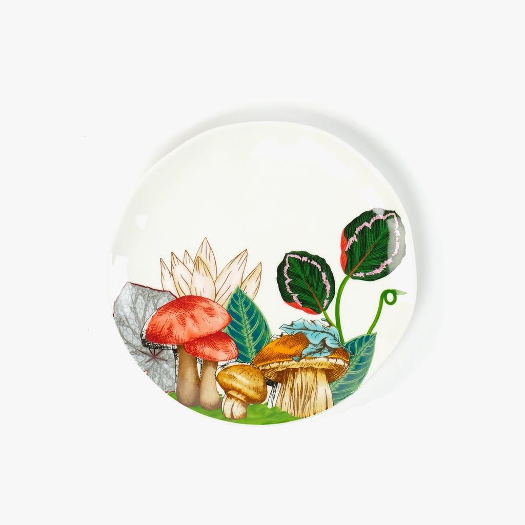 Prato de Sobremesa Greenery 19 cm