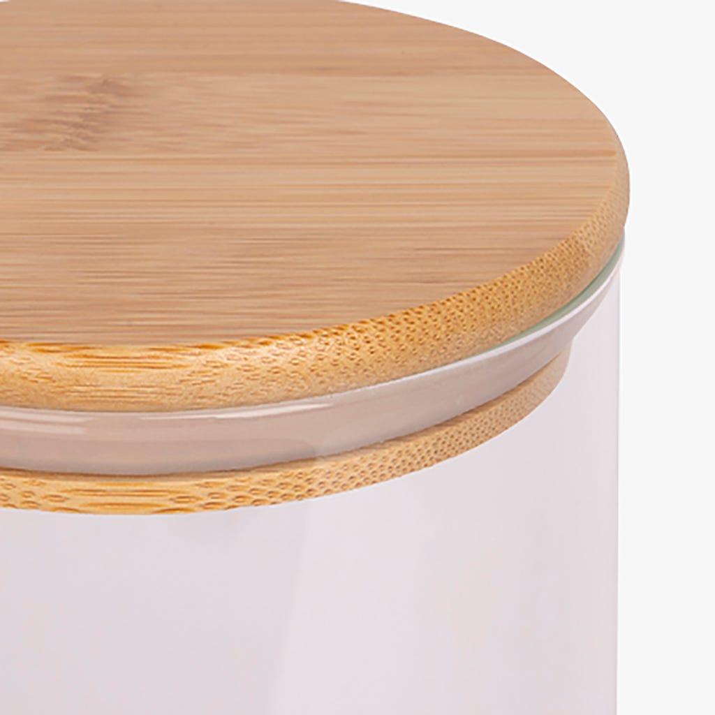 Boîte Glass Bambou/Verre 1,1L