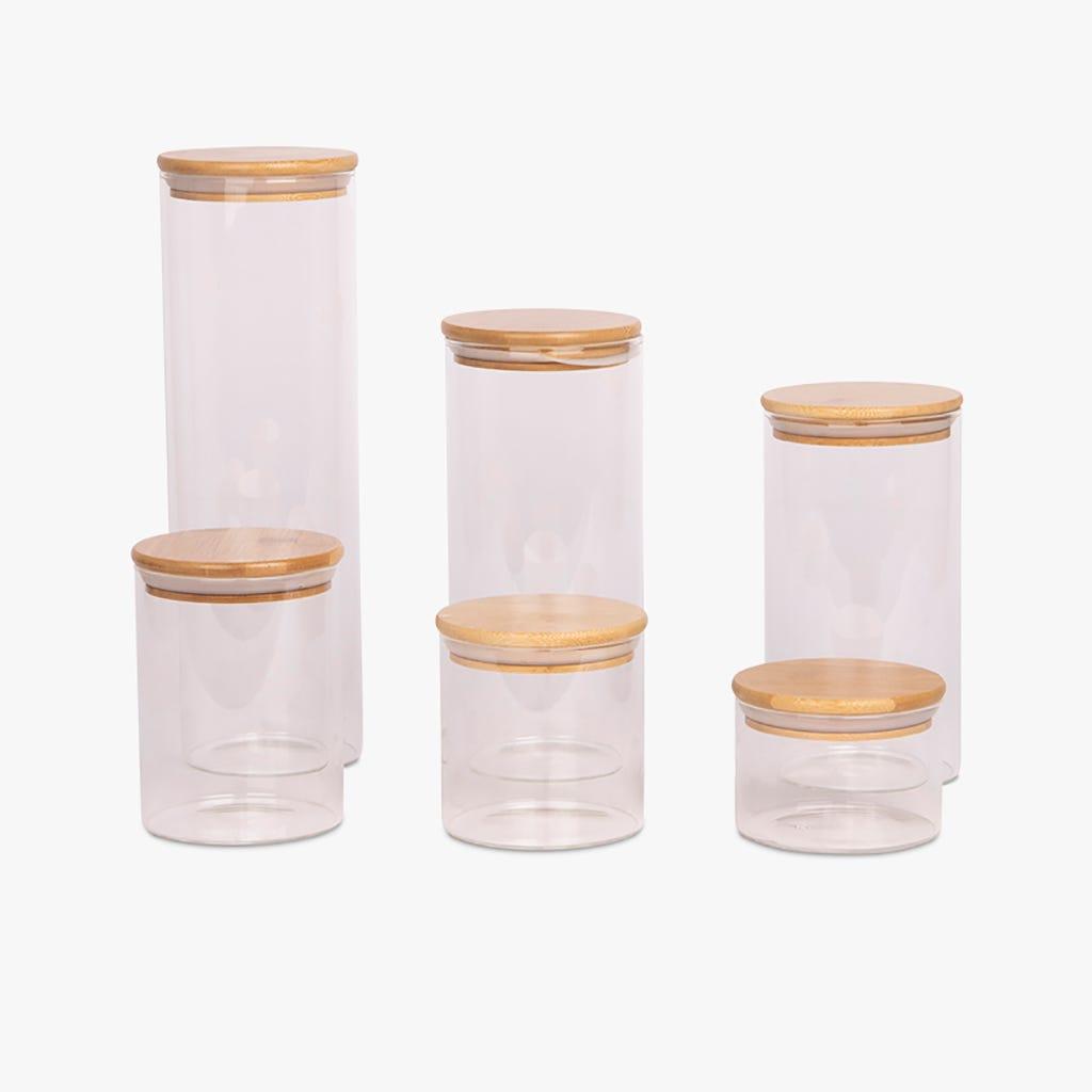 Boîte Glass Bambou/Verre 0,5L