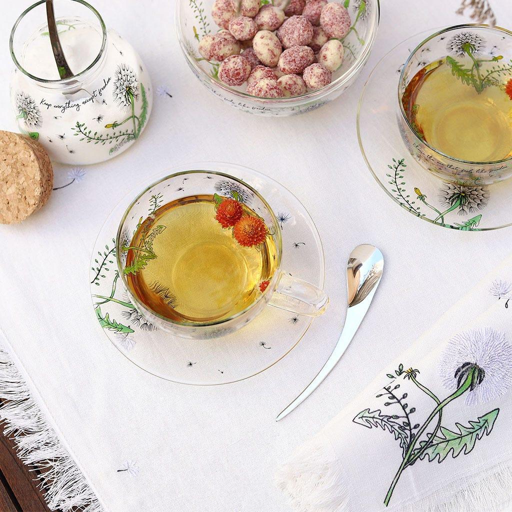 Colher de chá Dandelion (conj.2)