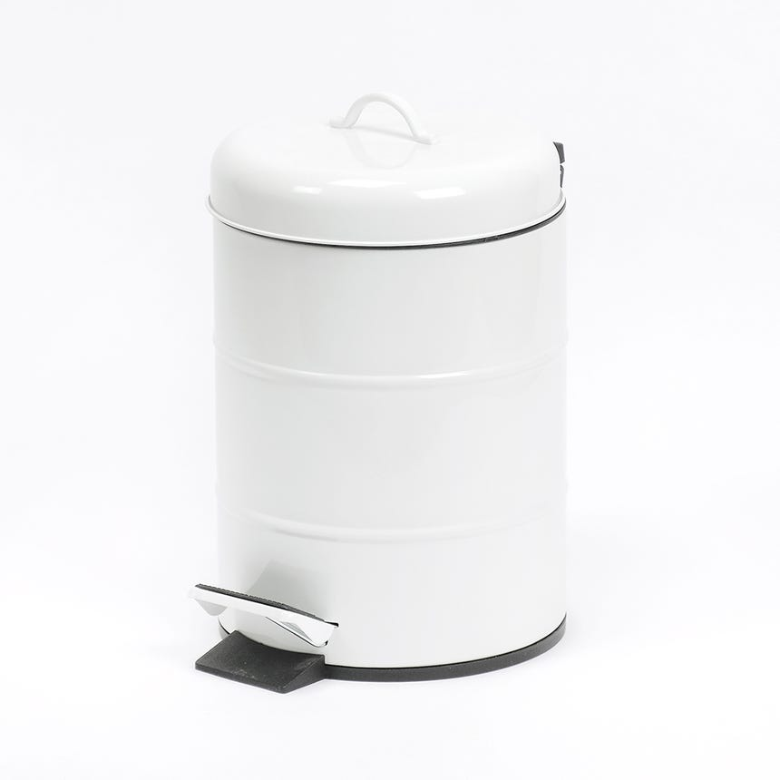 Caixote do Lixo Branco 5 Lt