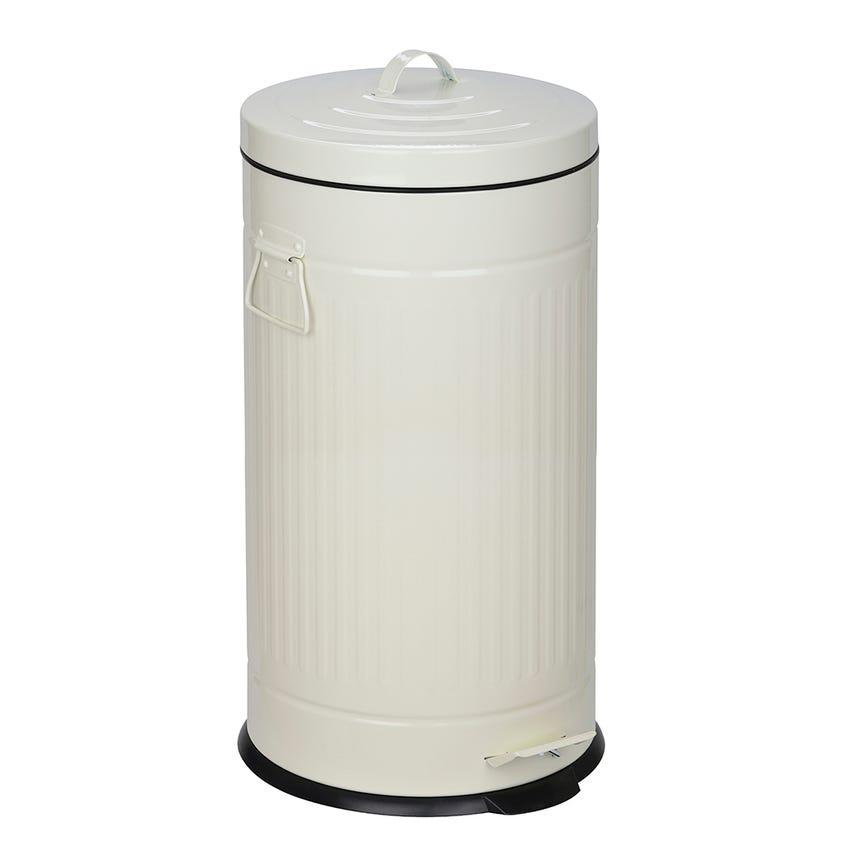 Caixote do Lixo Branco 30 Lt
