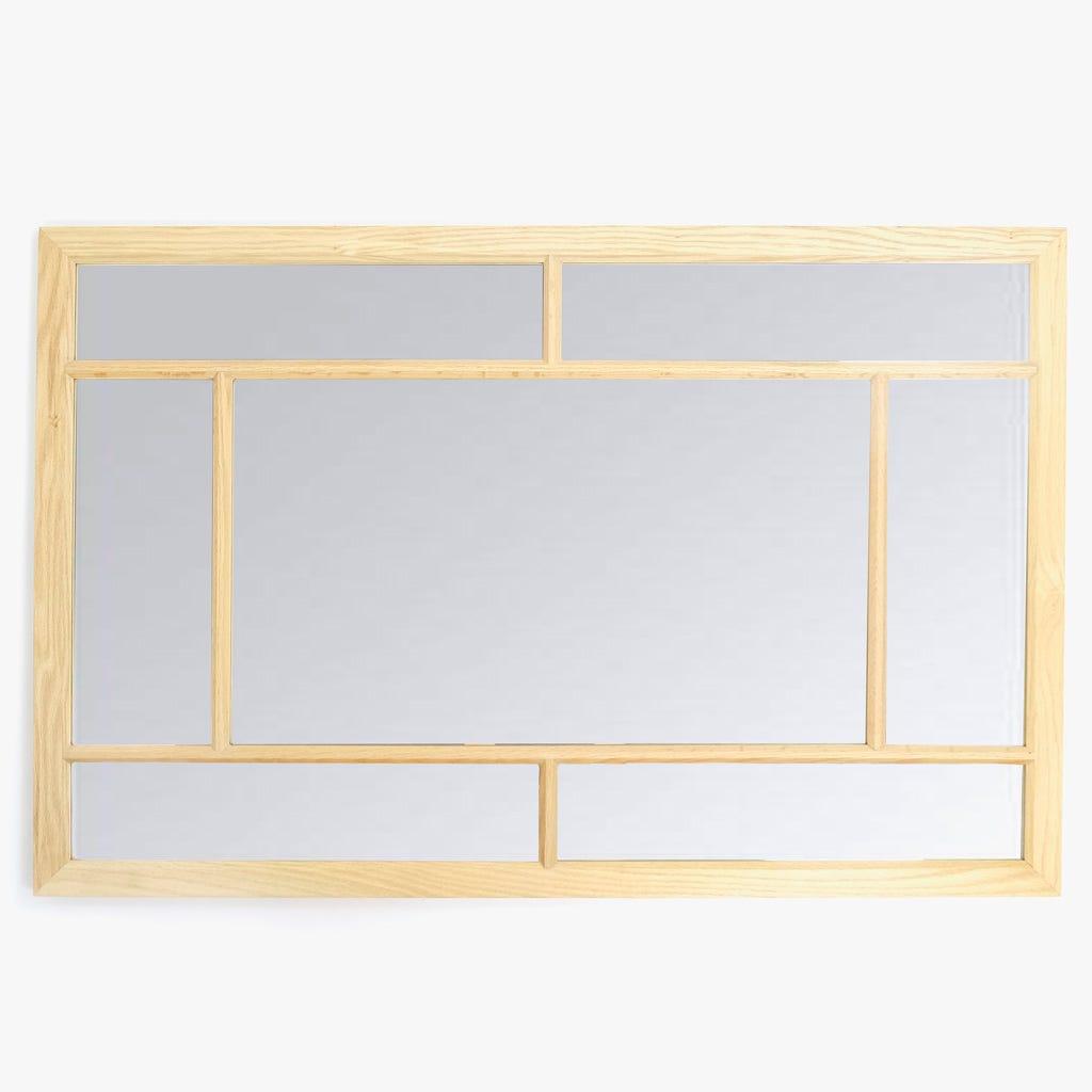 Espelho Madeira Janela 75x115 cm