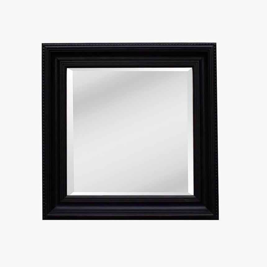Espelho Liso Preto 96x96 cm