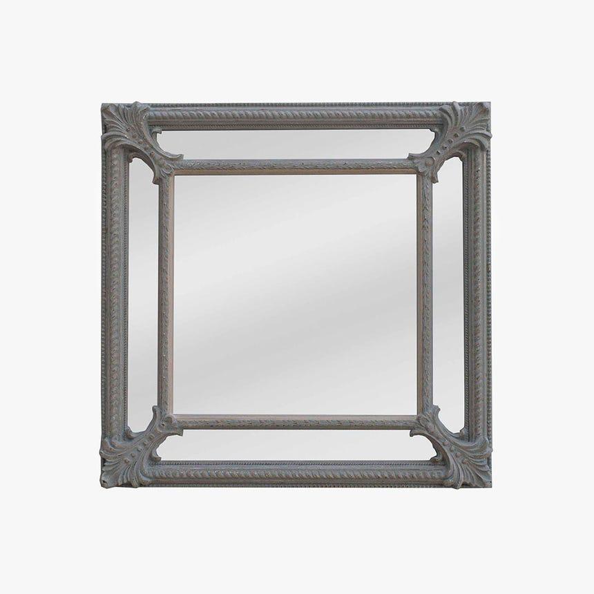 Espelho Cinza 90x90 cm