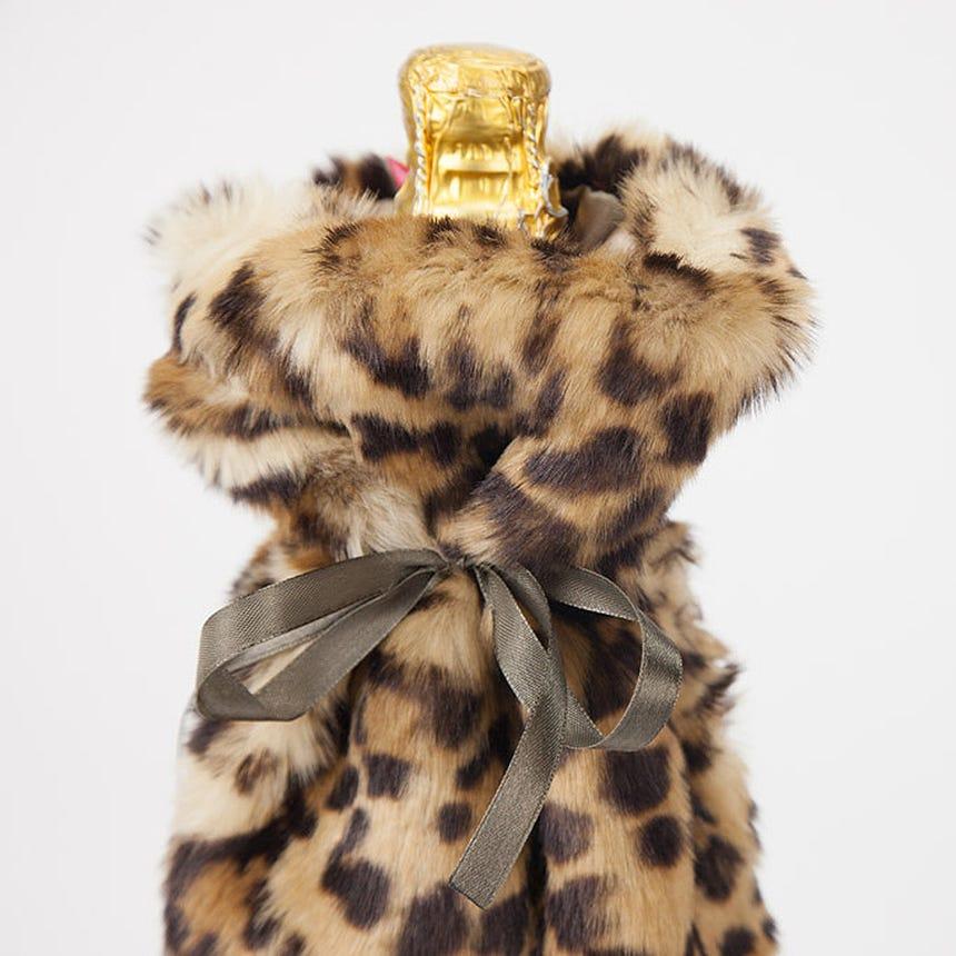 Capa de Garrafa Leopardo