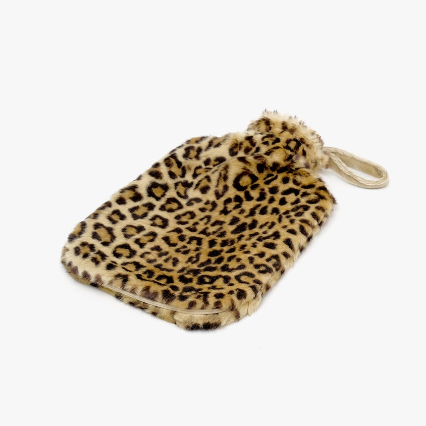Saco de Água Quente Eco Leopardo
