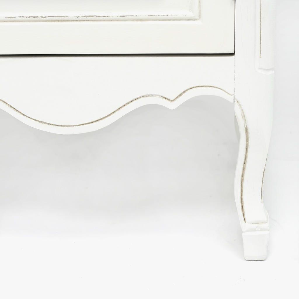 Aparador Viena com 3 Portas + 3 Gavetas Branco 140x45x90 cm