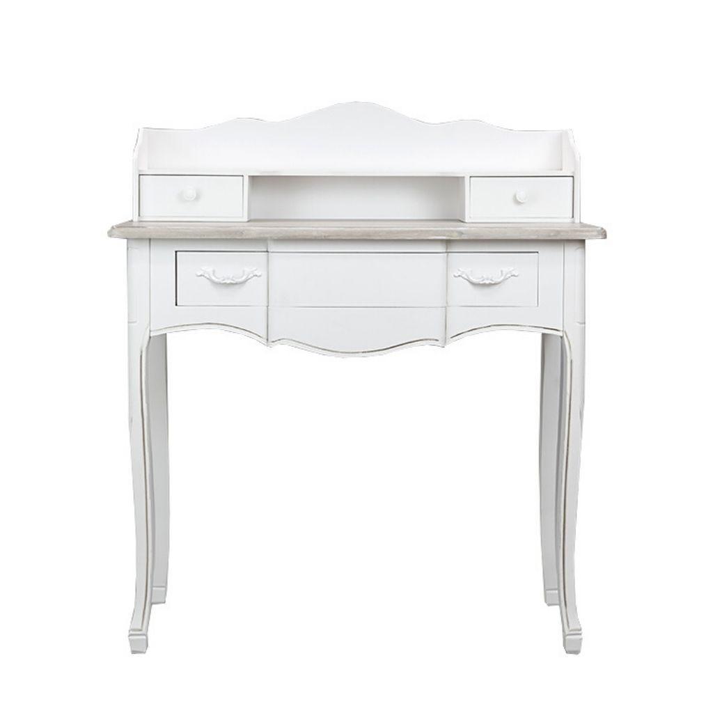 Escrivaninha Viena Branco 90x40x101 cm